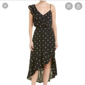 1.State Black and White Dress